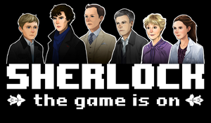 Character Portraits from SHERLOCK: THE GAME IS ON by SherlockTheGame