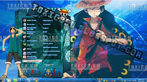 Tema Windows 7: LUFFY by ToxicoSM