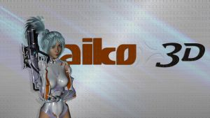 Aiko 3d Wallpaper Two by coolcat21