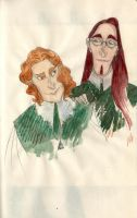 Albus and Gellert by Bonnino