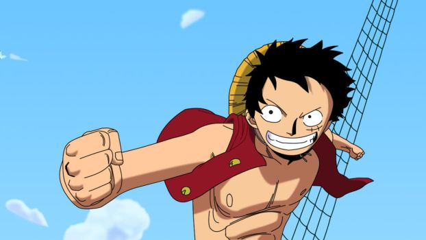 Luffy by Elric-1
