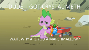 Don't do crystals, fillies. by ryandcaven