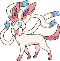 Eveelution Sylveon by Alpha-mon