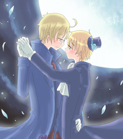 APH - Moonlight waltz by Mi-chan4649