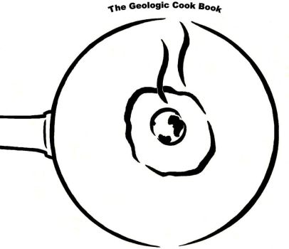 Geologic Cook Book Cover by petrifiedphish