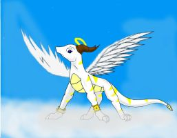 Kayla, the Bearer of Light by Lithium-dragon482