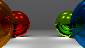 Open Illuminating Spheres by Dario999