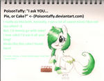 Ask Me Answer 1 by WispTheKitty