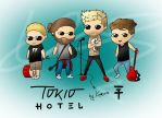 Tokio Hotel by KAMSOON