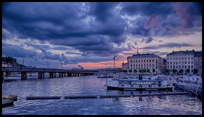 Stockholms sunset XV by PaVet-Photography