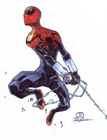 Superior Spider-man marker sketch by JoeyVazquez