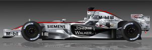 McLaren MP4-21 by pieczaro
