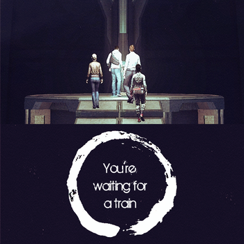 album- You're waiting for a train by Ericanii