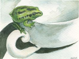 Cafe Frog by AshleighPopplewell