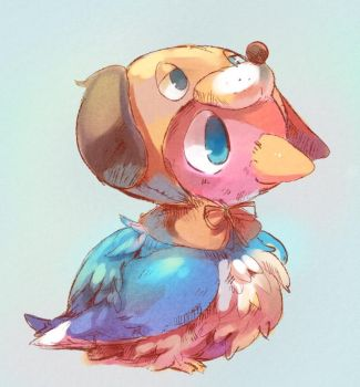 Duckling from Duck Hunt! by superkid123