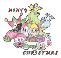 Ninty Christmas by Candy-Swirl