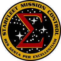 Starfleet Mission Control Crest by viperaviator