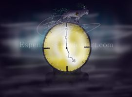 The time is catching up - Speed paint by Espenfluss