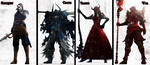The Four Horsemen of the Apocalypse [Redesigns] by WitchyGmod