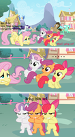Comic: No Cutie Marks...? No problem! by iPandacakes