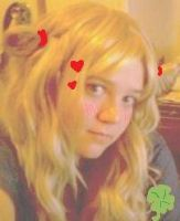 Hagu Hunny and Clover wig test by Mikay-Chan
