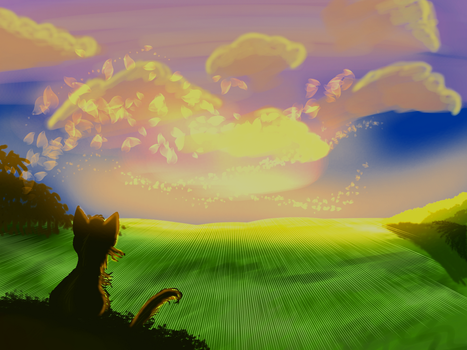 Shadedhearts and the valley by LuneLune-the-wolf