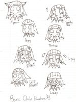 The Many Expressions of Chibi Cicero by MAD-as-a-HATTER12