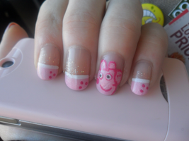 Peppa Pig by NailedItWithGlitter