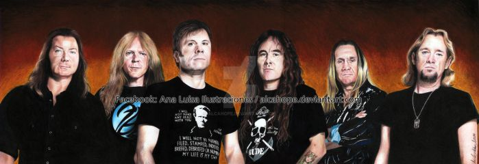 Iron Maiden by alcahope