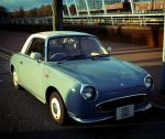 Nissan Figaro by nectar666