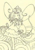 Please Color My Lollipop Fairy by reginafeby