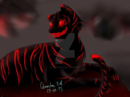 Tiger Ghost by QuantenZiel