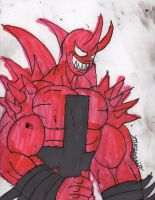 Hellfire is back in town by ChahlesXavier