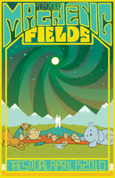 The Magnetic Fields: A Poster by GollyAbsolutely