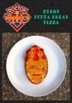 Zygon Pitta Bread Pizza by mikedaws