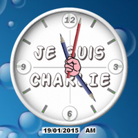 Je suis CHARLIE Clocx by jbaseb