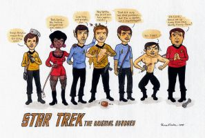 Star Trek TOS - TV-parody by HannaV