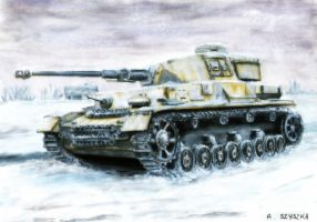 Panzerkampfwagen IV - Eastern freezing hell by Cune