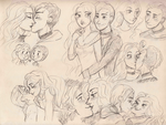C: Sketchpage for Caila by maybelletea