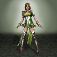 Dynasty Warriors 8 Bao Sanniang by ArmachamCorp