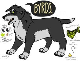 REF: Byrds the Mutt. by Fishteeth