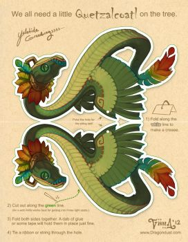 Quetzalcoatl for your Tree by mirroreyesserval