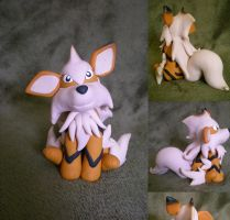 AT: Arcanine by Foureyedalien