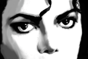 Michael Jackson eyes 3 by TheRealSexyKate