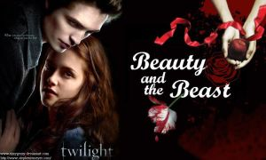 Twilight-Beauty and the Beast by EzzyGezzy