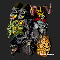 Faces of Evil by Wolfram-And-Hart