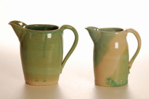 twin pitchers by Recycled-Oxygen