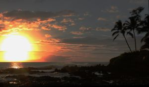 Sunset over Makena by MaxRamsey