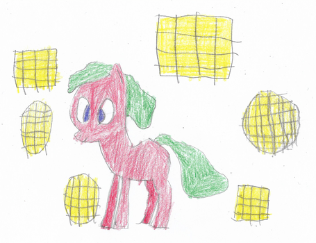 ATG Day 22 - Pony with Waffles by ethanland45