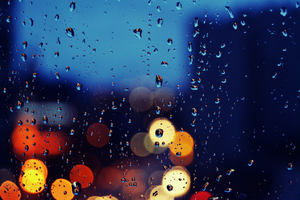 Rainy Day - Wallpaper by Calomiel